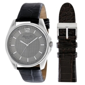 changeable brown black watch